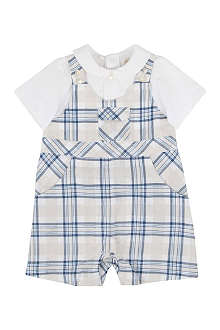 EMILE ET ROSE Checked romper all-in-one 1-9 months
