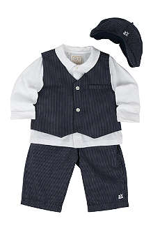 EMILE ET ROSE Three-piece set 3-24 months