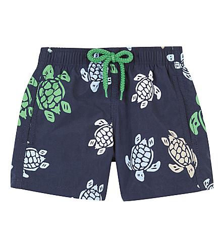 VILEBREQUIN Jim turtle nylon swim shorts 2 years (Navy