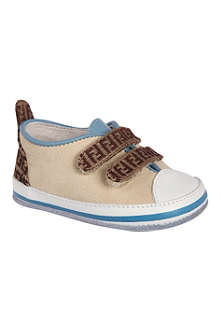 FENDI Leather trainers 1-6 months