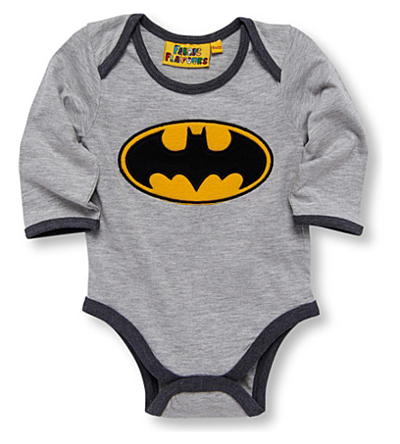 FABRIC FLAVOURS Batman bodysuit (Grey