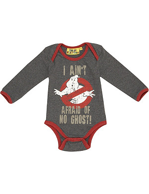 FABRIC FLAVOURS Ghostbusters bodysuit 0-18 months