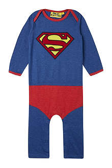 FABRIC FLAVOURS Superman bodysuit 0-18 months