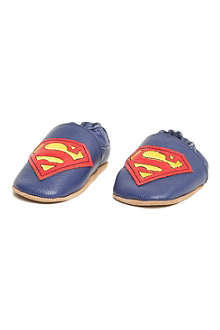 FABRIC FLAVOURS Superman booties 6-18 months
