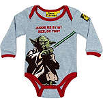 FABRIC FLAVOURS Star Wars Yoda bodysuit 0-18 months