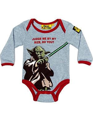 FABRIC FLAVOURS Star Wars Yoda babygrow 0-18 months