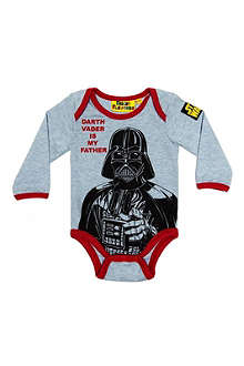 FABRIC FLAVOURS Star Wars Darth Vader bodysuit 0-18 months