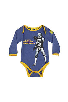 FABRIC FLAVOURS Stormtrooper bodygrow 0-18months