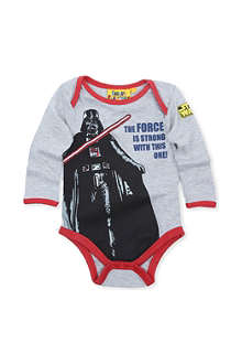 FABRIC FLAVOURS Star Wars Darth Vader babygrow 0-18 months
