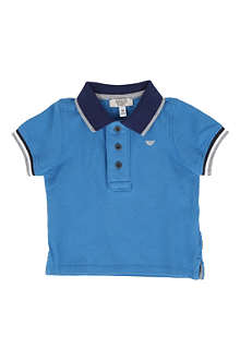 ARMANI JUNIOR Piqué polo shirt 6-24 months