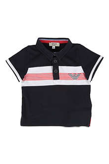 ARMANI JUNIOR Striped polo shirt 6-24 months
