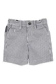 ARMANI JUNIOR Striped shorts 6-24 months