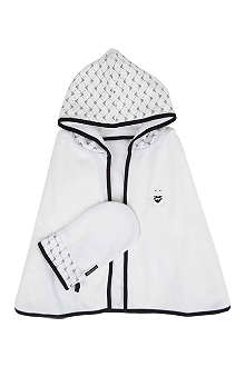 ARMANI JUNIOR Towel and mitt set
