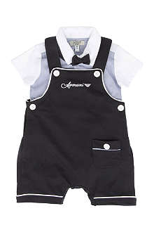 ARMANI JUNIOR Formal three-piece set 1-9 months