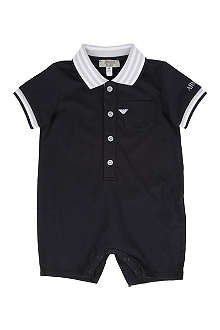 ARMANI JUNIOR Polo shirt baby-grow 1-9 months