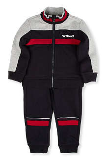 ARMANI JUNIOR Colour-blocked tracksuit 3-24 months