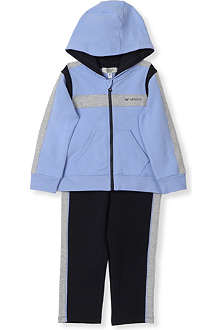 ARMANI JUNIOR Two-piece hooded tracksuit 3-24 months