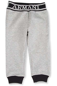 ARMANI JUNIOR Logo-detailed jogging bottoms 3-24 months