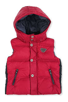 ARMANI JUNIOR Quilted gilet 3-24 months