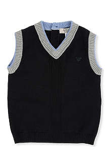 ARMANI JUNIOR Knitted vest 3-24 months