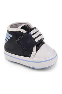 ARMANI JUNIOR Mock lace trainers 3-12 months