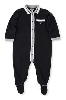 ARMANI JUNIOR Polo bodysuit 1-12 months