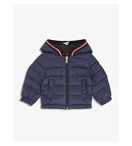 MONCLER Blasimon quilted down jacket 3-36 months (Navy