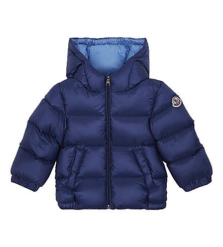 MONCLER Macaire puffer jacket 6-36 months (Blue