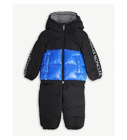 MONCLER 热尔芒特夹层夹克和裤子集 9-36 发表 (黑色