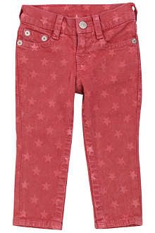 TRUE RELIGION Casey star-print slim-fit jeans 6-24 months