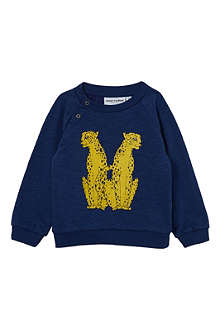 MINI RODINI Cheetah jumper 3-12 months