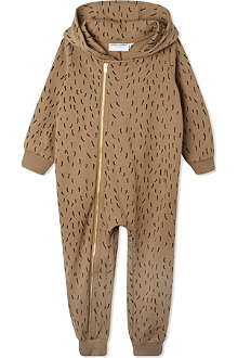 MINI RODINI Bear sleepsuit 3-12 months
