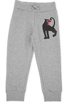 MINI RODINI Panther-print jogging bottoms