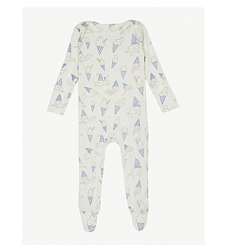 STELLA MCCARTNEY Rufus print all-in-one suit 6-24 months (Icecream