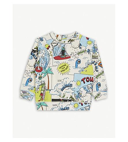 STELLA MCCARTNEY Billie Tourist print jumper 6-36 months (Tourist