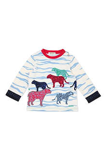 KENZO Long-sleeved tiger t-shirt 12 months-4 years