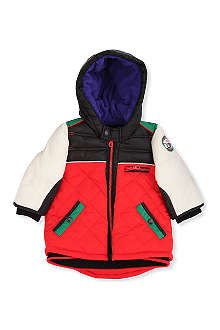 KENZO Panel hooded jacket 12 months-4 years