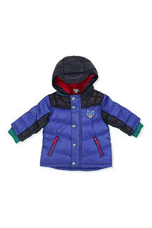KENZO Hooded quilted jacket 12 months-4 years