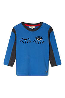 KENZO Eye detail long sleeved tee 3 months-3 years