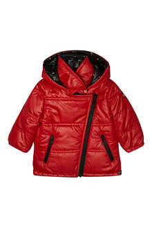 KENZO Reversible eye-print padded jacket 6-36 months