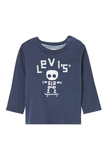 LEVI'S Skeleton long-sleeved t-shirt 3-36 months