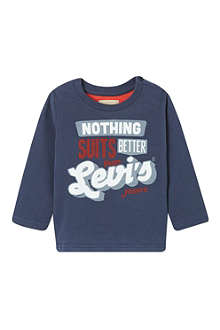 LEVI'S Nothing Suits long-sleeved t-shirt 3-36 months