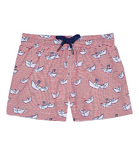 SUNUVA Stripe paper plane swim shorts 3-24 months (Paper+plane