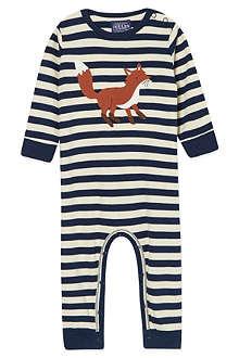 JOULES Fox appliquéd babygrow 0-12 months