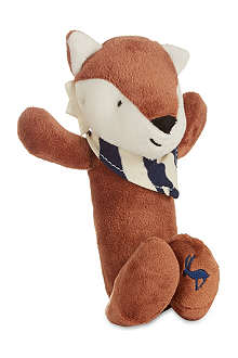 JOULES Renard the fox plush toy rattle