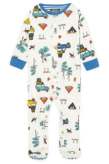 JOULES Camping babygrow 0-12 months