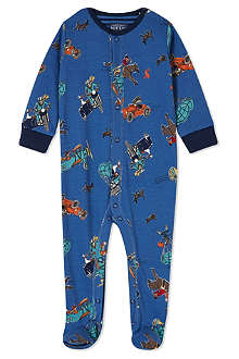 JOULES Printed babygrow 0-12 months