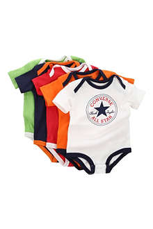 CONVERSE Five-pack bodysuit set 3-9 months