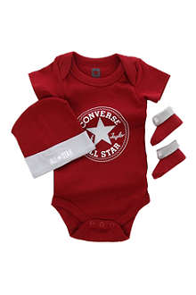 CONVERSE Three-piece set 0-6 months