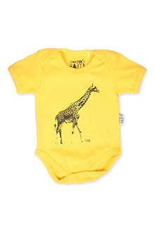 MONSTER'S BABY Giraffe baby-grow 0-18 months